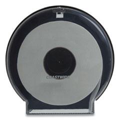Coastwide Professional™ Jumbo Roll Toilet Paper Dispenser, 11.88 x 5.13 x 11, Translucent Smoke