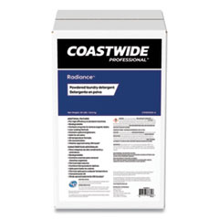 Coastwide Professional™ Radiance Powdered Laundry Detergent, Citrus Violet Scent, 50 lb Box