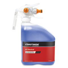 Coastwide Professional™ pH Neutral Daily Floor Cleaner Concentrate for EasyConnect Systems, Strawberry Scent, 3 L Bottle, 2/Carton