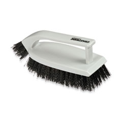 "Coastwide Professional™ Scrub Brush, Polypropylene, 6"", Gray"