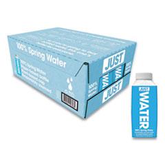 Just Water Spring Water, 11.2 oz, 24/Carton
