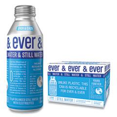 Ever & Ever Reverse Osmosis Still Water, 16 oz Bottle, 12/Carton