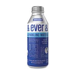 Ever & Ever Reverse Osmosis Sparkling Water, 16 oz Bottle, 12/Carton