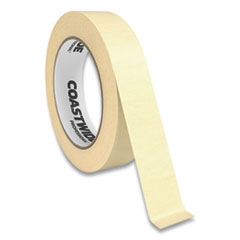 """Coastwide Professional™ Industrial Masking Tape, 1"""" x 60 yds, Beige"""