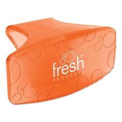 Fresh Products Eco Bowl Clip, Mango Scent, Orange, 12/Box
