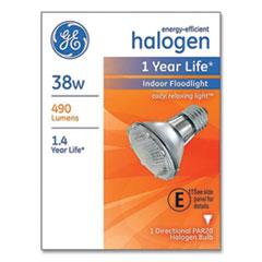 GE Energy-Efficient PAR20 Halogen Bulb, 38 W, Soft White