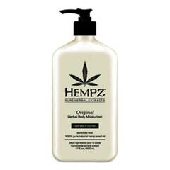 Hempz® Original Herbal Body Moisturizer, 17 oz Pump Bottle, Floral and Banana