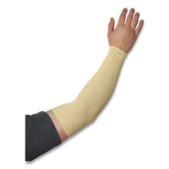 "KutGard® Knitted Kevlar Sleeve, 2-Ply, 18"" Length, Tan"