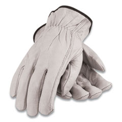 PIP Economy Grade Top-Grain Cowhide Leather Work Gloves