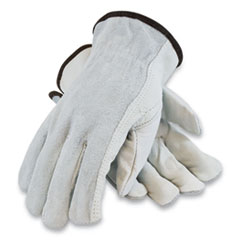 PIP Top-Grain Leather Drivers Gloves with Shoulder-Split Cowhide Leather Back