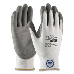 PIP Great White 3GX Seamless Knit Dyneema Diamond Blended Gloves, Large, White/Gray