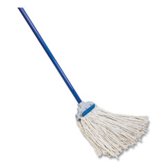 "Quickie® Super Scrubber Wet Mop, 48"" Steel Handle"