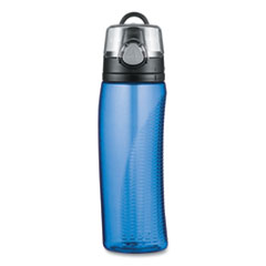 Thermos® Intak by Thermos Hydration Bottle with Meter, 24 oz, Blue, Polyester