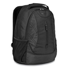 "Targus® Ascend Backpack, 16"", 12.5 x 7 x 18.6, Polyester, Black"