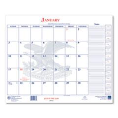 Unicor 7510016648788, Calendar Blotter, 18 x 22, 2021