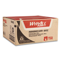 WypAll® X80 Foodservice Towel, Kimfresh Antimicrobial Hydroknit, 12 1/2 x 23 1/2, 150/Ct