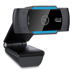 CyberTrack H5 1080P HD USB AutoFocus Webcam with Microphone, 1920 Pixels x 1080 Pixels, 2.1 Mpixels, Black