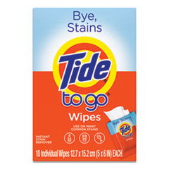 Tide® To Go Instant Stain Remover Wipes