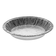"""Pactiv Aluminum Pie Pans, Extra Deep, 7.13"""" Diameter x 1.19""""h, 400/Carton"""