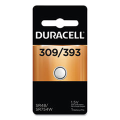 Duracell® Button Cell Battery, 309/393, 1.5V