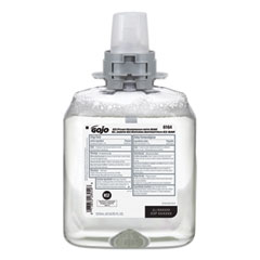GOJO® E2 Foam Handwash with BAK, 1,250 mL Refill, 4/Carton