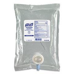 PURELL® Green Certified Advanced Refreshing Gel Hand Sanitizer, For CS2, 1,000 mL, Fragrance-Free, 8/Carton