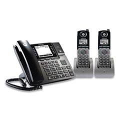 Motorola 1-4 Line Wireless Phone System Bundle, 2 Additional Cordless Handsets