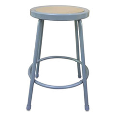 Alera® Industrial Metal Shop Stool