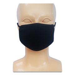 GN1 Kids Fabric Face Mask, Black, 500/Carton