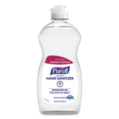 PURELL® Advanced Gel Hand Sanitizer, Clean Scent, 12.6 oz Squeeze Bottle, 12/Carton