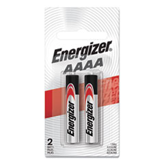 Energizer® MAX Alkaline AAAA Batteries, 1.5V, 2/Pack