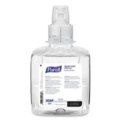 PURELL® HEALTHY SOAP Mild Foam, For CS6 Dispensers, Fragrance-Free, 1,200 mL, 2/Carton
