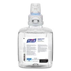 PURELL® Professional HEALTHY SOAP Mild Foam, Fragrance-Free, 1,200 mL, For CS8 Dispensers, 2/Carton