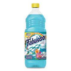 Fabuloso® Multi-use Cleaner, Ocean Paradise Scent, 22 oz Bottle, 12/Carton