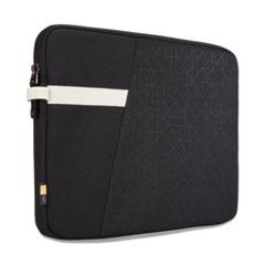 "Case Logic® Ibira 11.6"" Laptop Sleeve, 12.6 x 1.2 x 9.4, Polyester, Black"