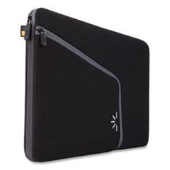 """Case Logic® Roo 13.3"""" Laptop Sleeve, 13.5 x 1.75 x 10.25, Neoprene, Black"""