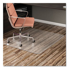deflecto® EconoMat Antimicrobial Chair Mat