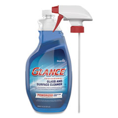 Diversey™ Glance Powerized Glass & Surface Cleaner, Liquid, 32 oz, 4/Carton