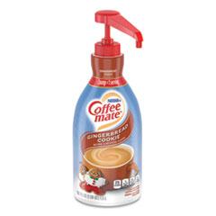 Coffee mate® Liquid Coffee Creamer, Gingerbread Cookie, 1.5 Liter Pump Bottle