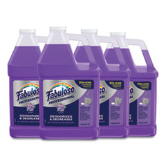 Fabuloso® All-Purpose Cleaner, Lavender Scent, 1 gal Bottle, 4/Carton