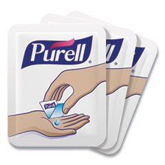 PURELL® Single Use Advanced Gel Hand Sanitizer, 1.2 mL, Packet, Clear, 2,000/Carton