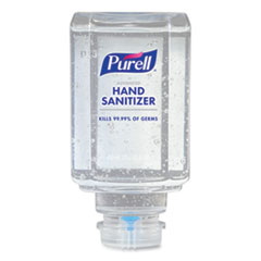 PURELL® Advanced Gel Hand Sanitizer, Clean Scent, For ES1, 450 mL Refill, 6/Carton