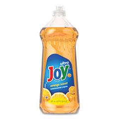 Joy® Ultra Orange Dishwashing Liquid, Orange, 30 oz Bottle, 10/Carton