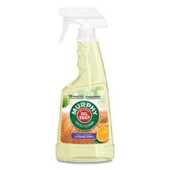 Murphy® Oil Soap Spray Formula, All-Purpose, Orange, 22 oz Spray Bottle, 9/Carton