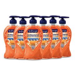 Softsoap® Antibacterial Hand Soap, Crisp Clean, 11 1/4 oz Pump Bottle, 6/Carton