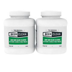 Diversey™ Beer Clean Glass Cleaner, Unscented, Powder, 4 lb. Container