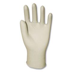 GN1 Powder-Free Synthetic Vinyl Gloves, Medium, Cream, 1,000/Carton