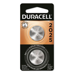 Duracell® Lithium Coin Battery, 2025, 2/Pack