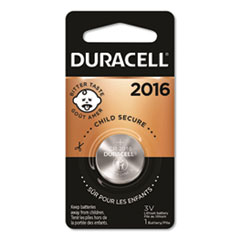 Duracell® Lithium Coin Battery, 2016