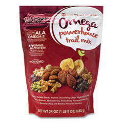 Wildroots® Omega Powerhouse Train Mix, 24 oz Bag, Free Delivery in 1-4 Business Days